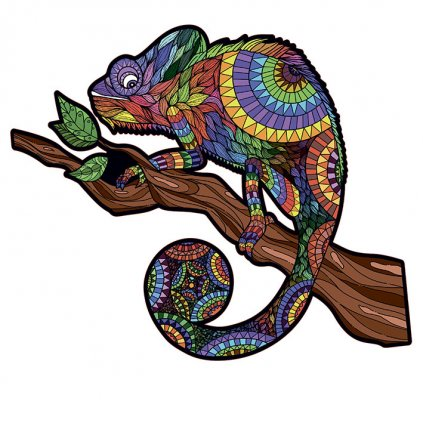 Chameleon puzzle 1