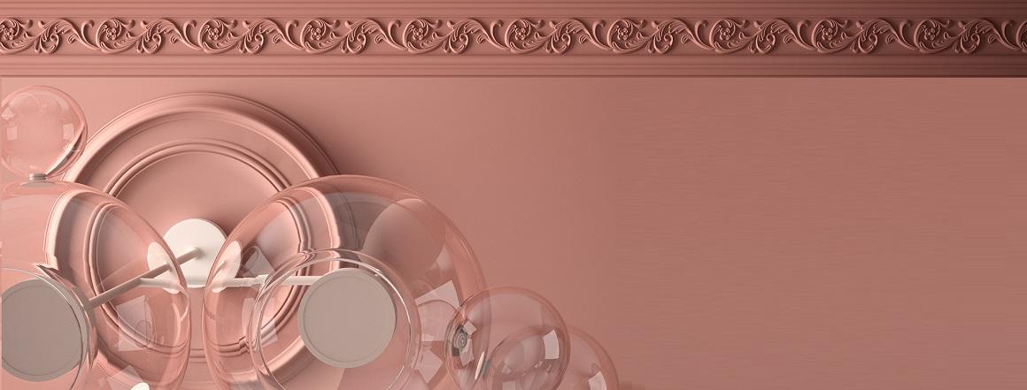 Růžový strop
