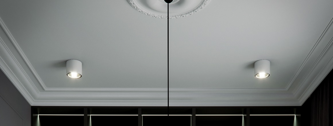 Tmavý strop
