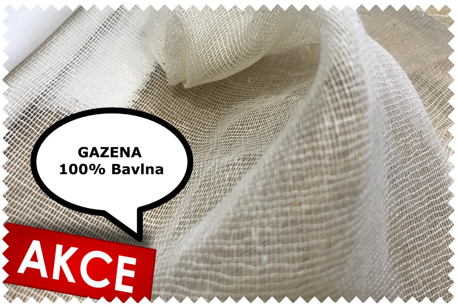 gazena režná bavlna otouš
