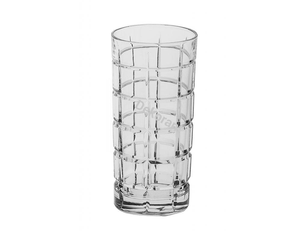 Crystal Bohemia sklenice na vodu a nealko nápoje Timesquare 420 ML 6KS