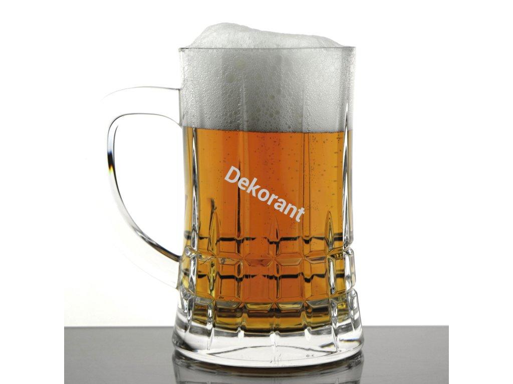 Crystal Bohemia sklenice na pivo Dover 0,5L 1KS