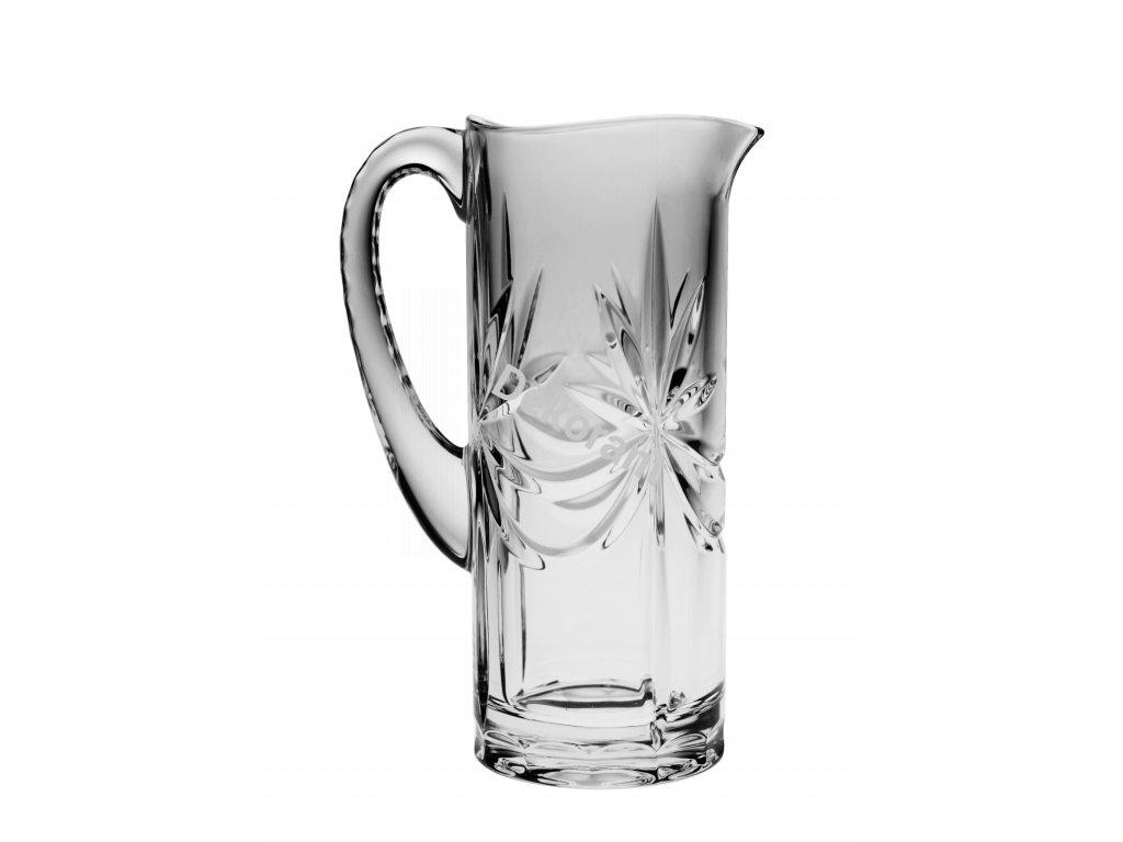 Crystal Bohemia skleněný džbán 1100 ML (03900)
