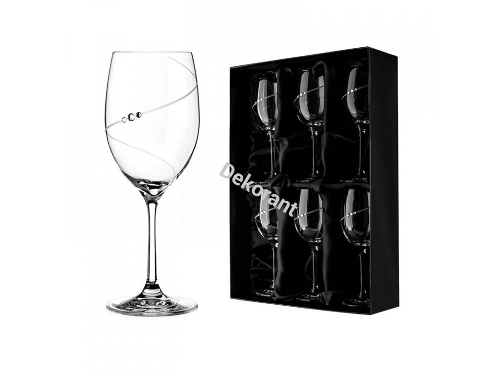 silhouette biele vino