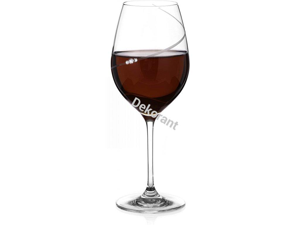 Silhouette City Black Epitome sklenice na červené víno 2KS sss