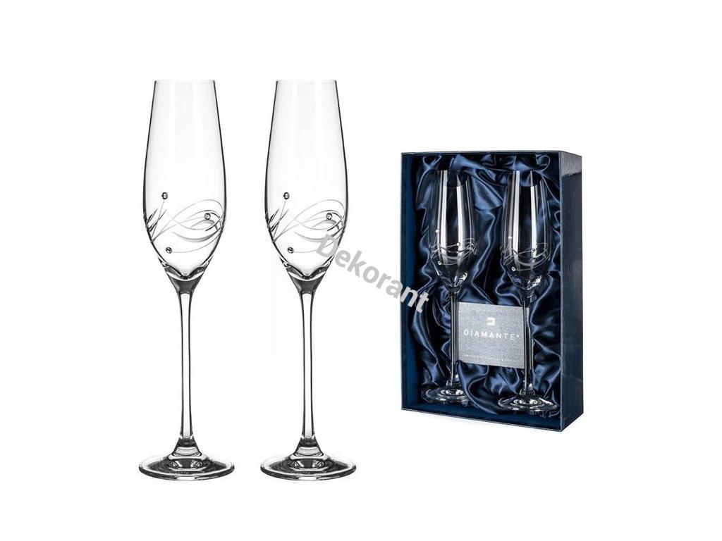 šampaňské Swarovski Lunar 210ml 2KS