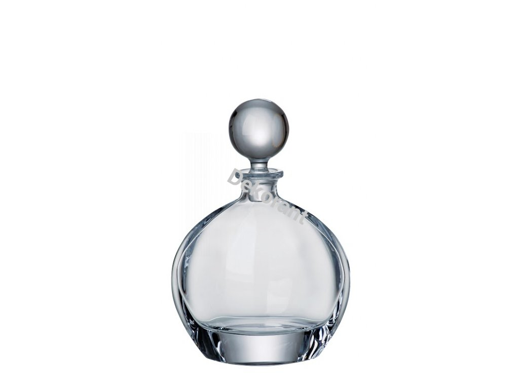 Crystalite Bohemia skleněná karafa na whisky Orbit 650 ML