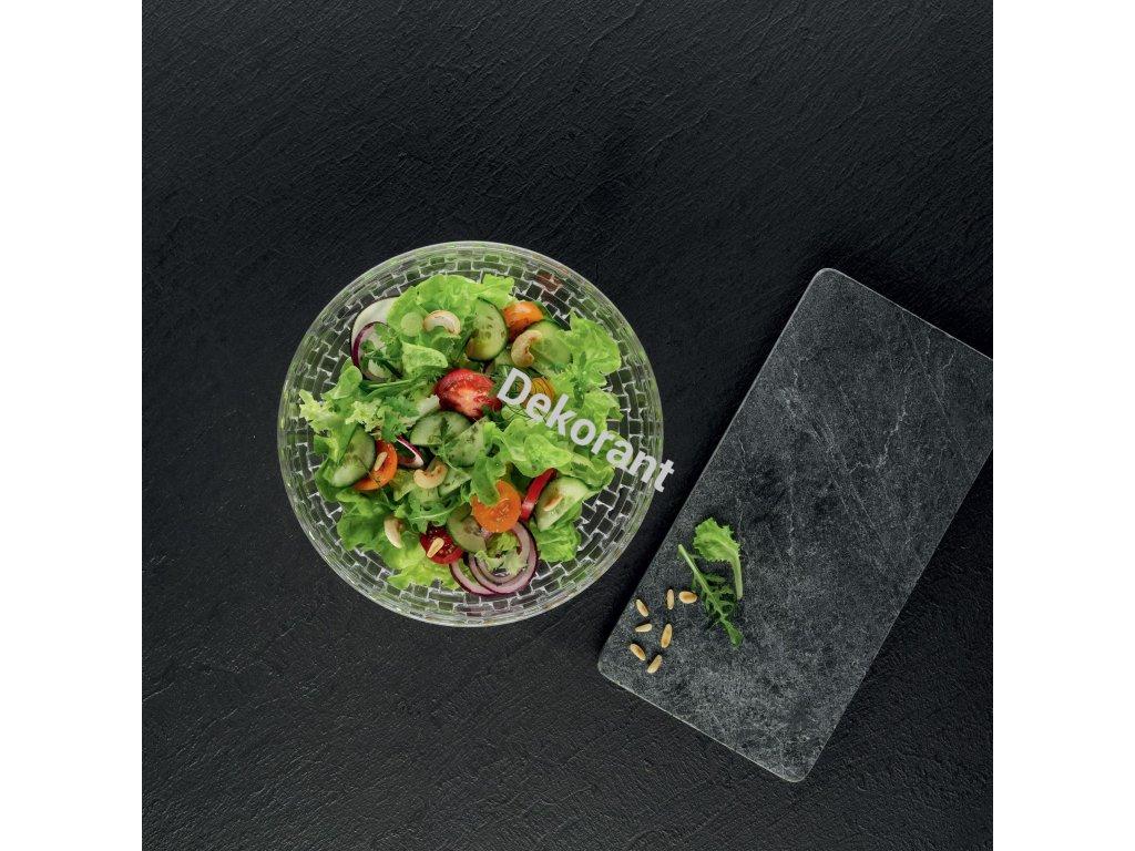 23cm+Nachtmann+Bossa+Nova+Crystal+Salad+Bowl
