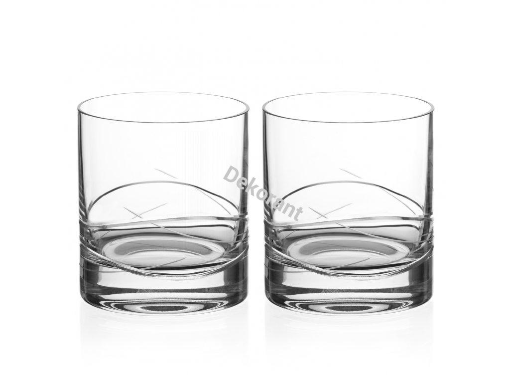 Diamante sklenice na whisky Venice 310 ml 6KS