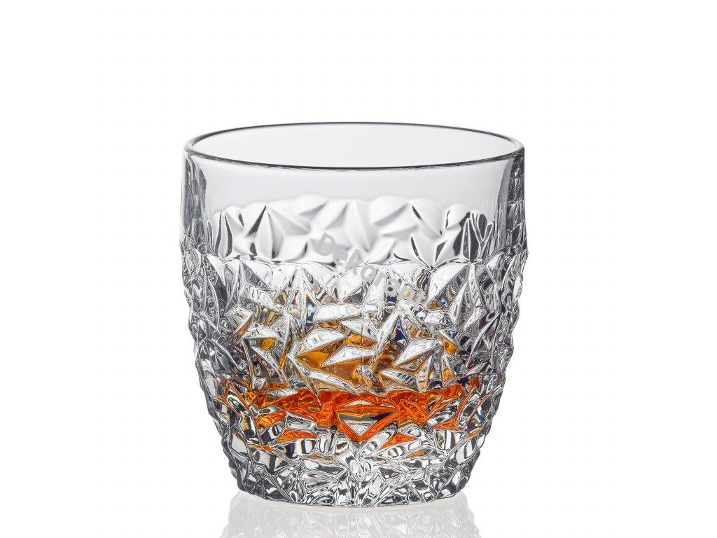 Bohemia Jihlava sklenice na whisky Nicolette 350 ml 6KS