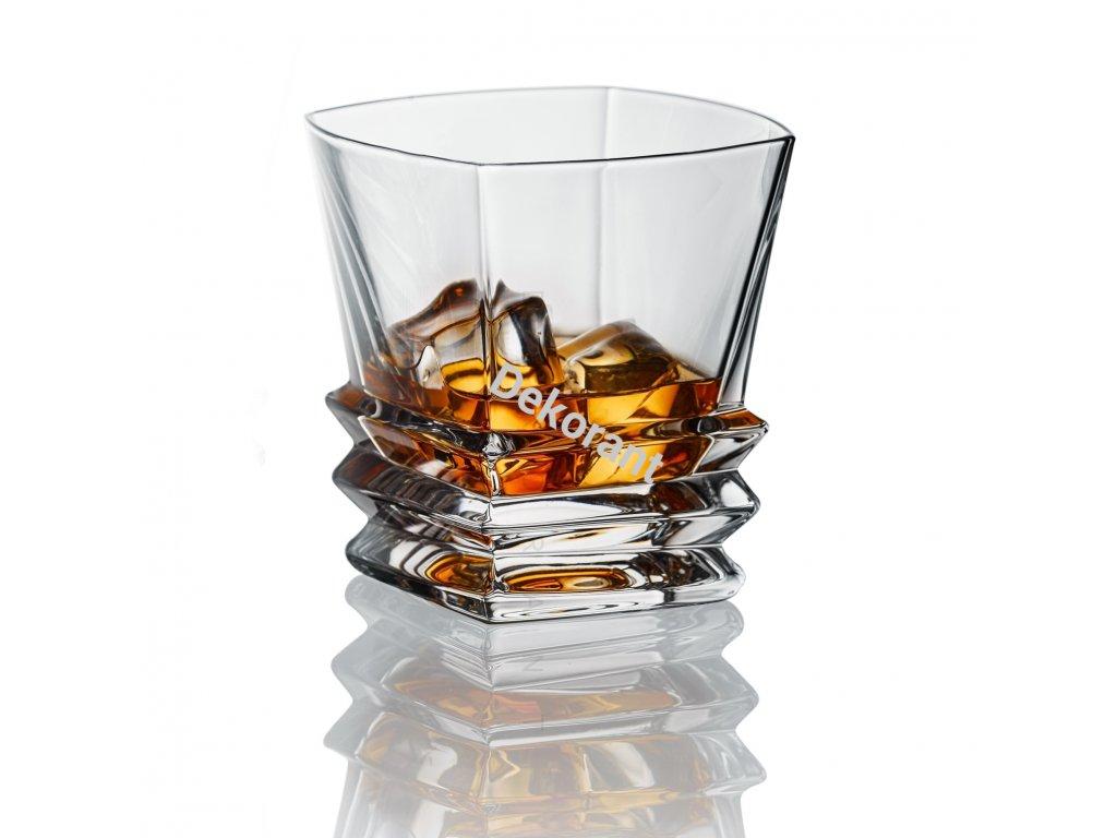 Bohemia Jihlava sklenice na whisky Rocky 310 ML, 6 KS