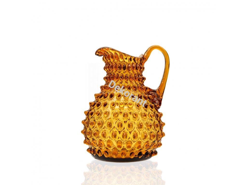 Polka dot 2000 ml amber2