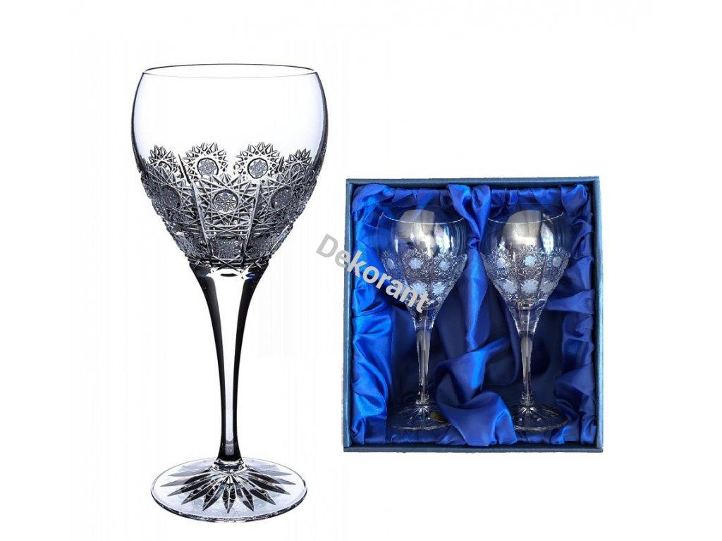 sklenice na víno 500pk v dárkovém balení