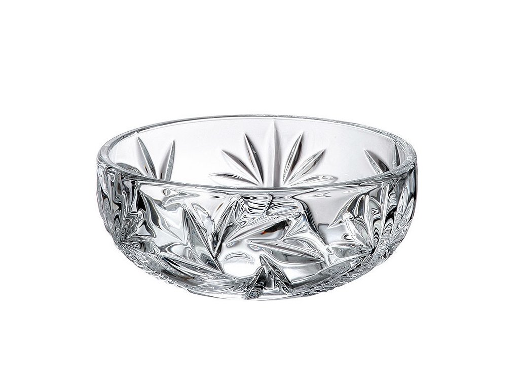 Crystalite Bohemia skleněná miska Pinwheel Nova Old Dekorant.cz