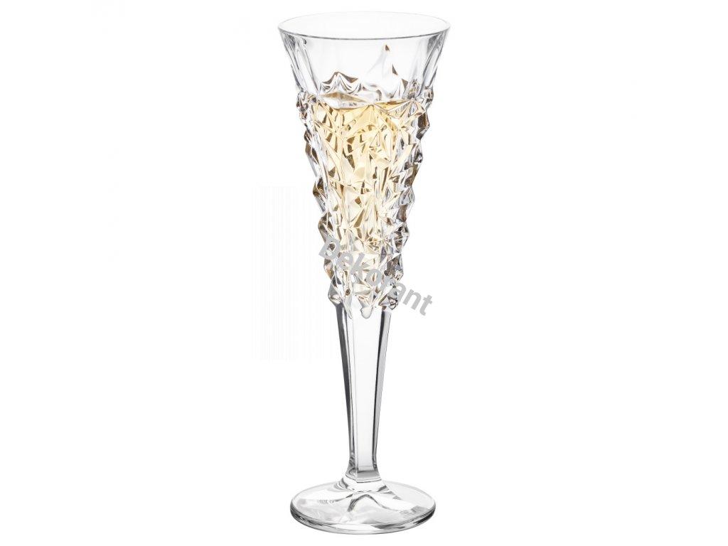 Bohemia Jihlava sklenice na šampaňské Glacier 200ML, 6 KS