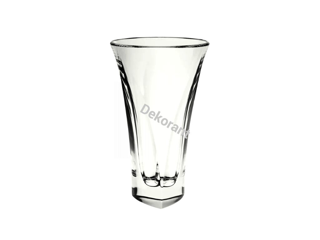 Bohemia Jihlava skleněná váza Triangle 30 CM