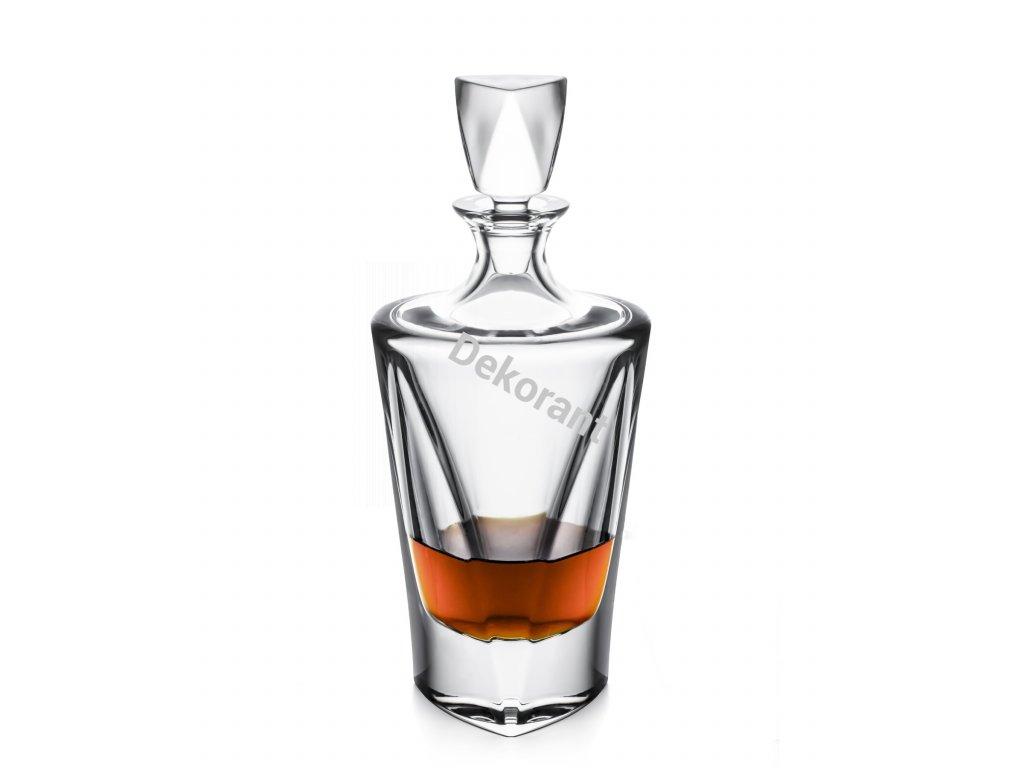 Bohemia Jihlava karafa na whisky Triangle 750 ML