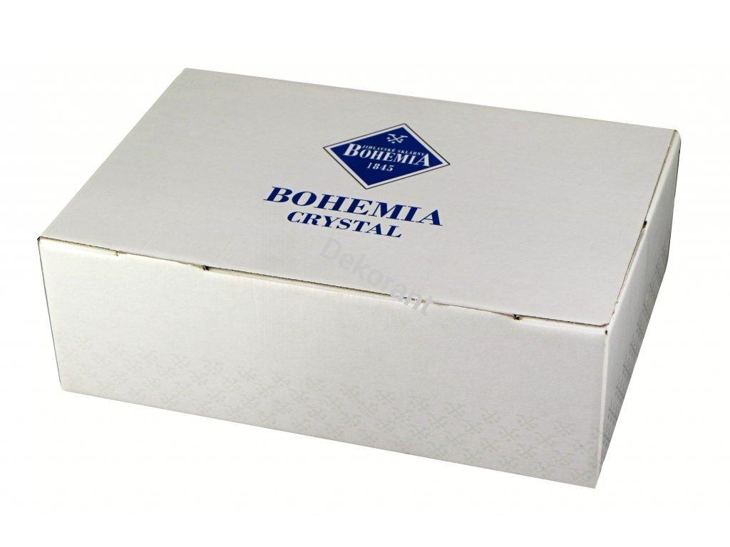 Bohemia Jihlava sklenice na whisky Triangle 320 ML 6KS