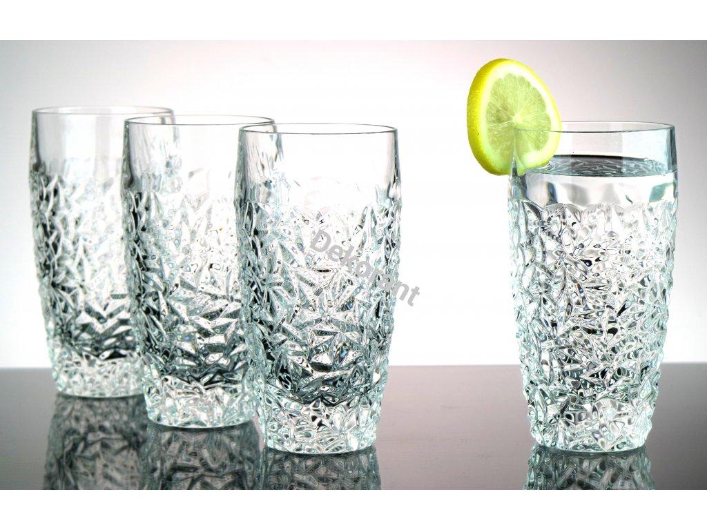Bohemia Jihlava sklenice na vodu Nicolette 430 ML 6KS