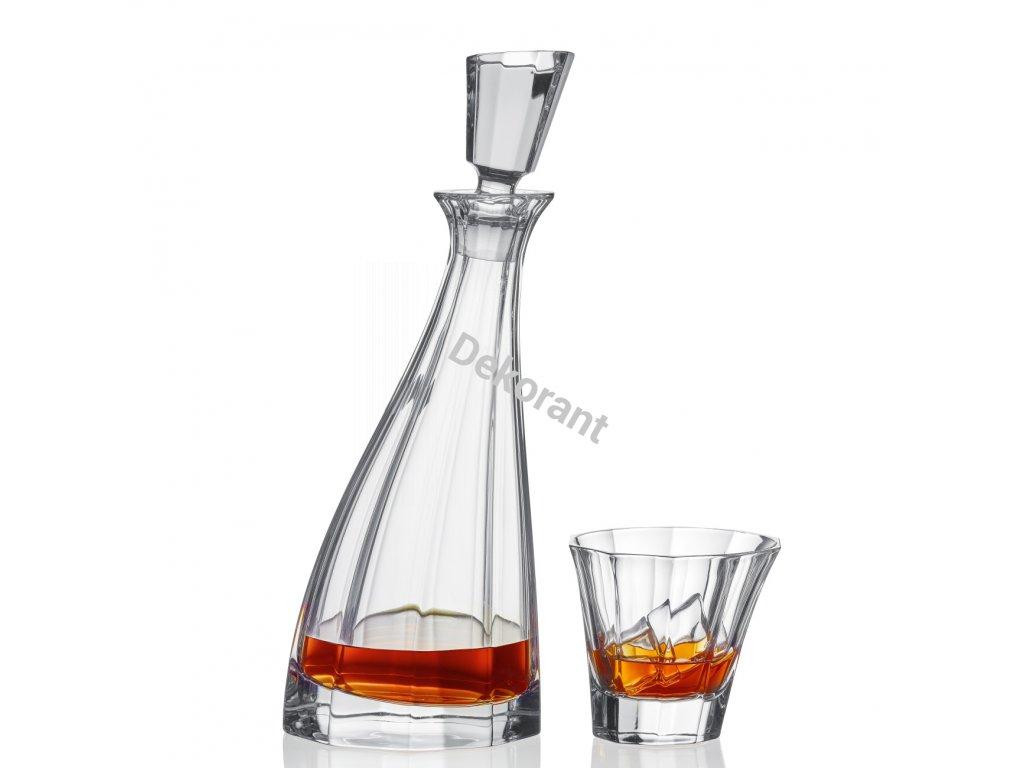 Bohemia Jihlava souprava na whisky Boston 1+6