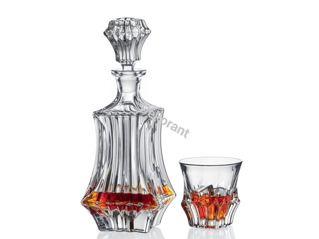 Bohemia Jihlava souprava na whisky Prague 1+6