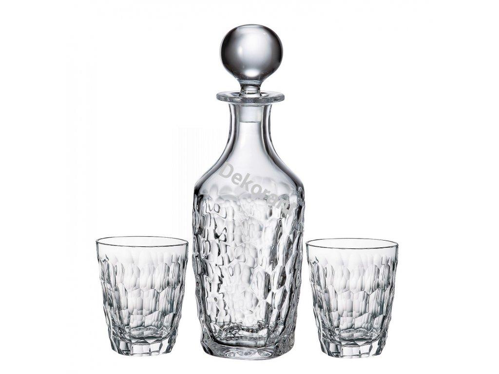 Marble whisky set