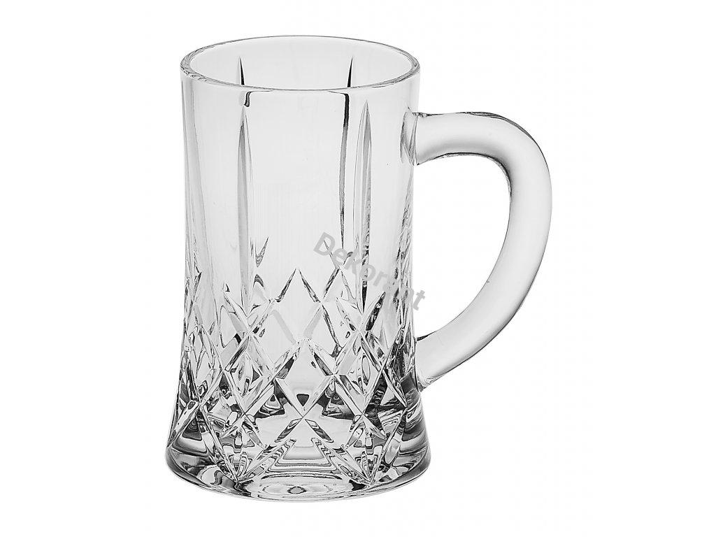 Crystal Bohemia sklenice na pivo Brixton 0,5L 1KS