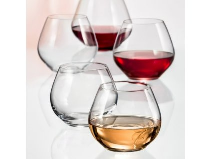 Crystalex sklenice na víno a lihoviny Amoroso 340 ml 2KS