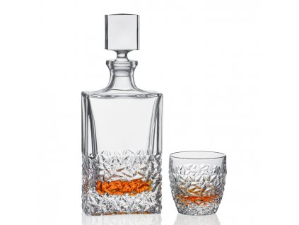 Bohemia Jihlava whisky set Nicolette 1+6