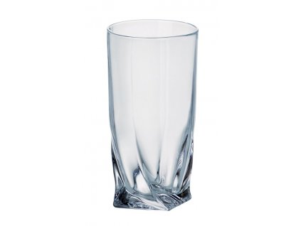 Crystalite Bohemia sklenice Quadro 350 ML, 6 KS