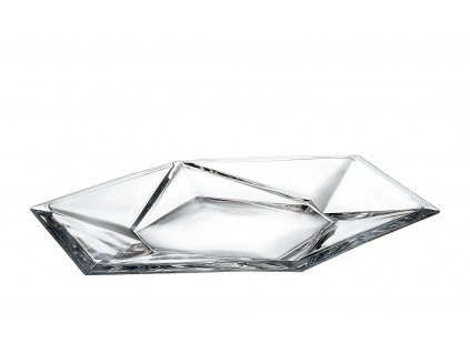 Origami skleněný dekorační a servírovací talíř