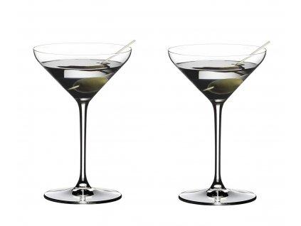 Extreme sklenice na martini