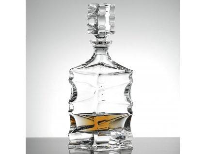Bohemia Jihlava karafa na whisky Sail 800 ML