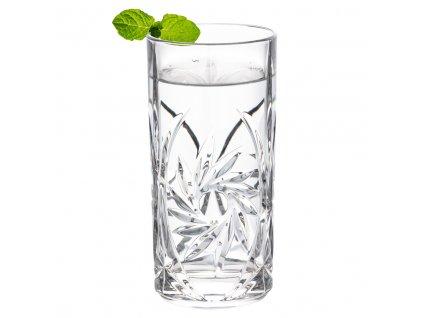 Bohemia Jihlava sklenice na vodu Pinwheel 370 ml 6KS