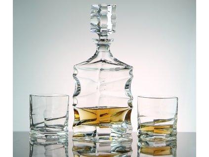 Bohemia Jihlava souprava na whisky Sail 1+6