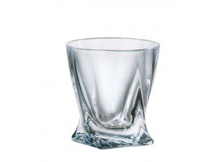 Crystalite Bohemia sklenice na destiláty quadro 55 ml, 6 KS