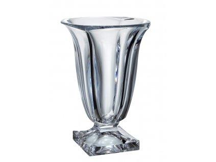 Crystalite Bohemia Český křišťál, skleněná váza Magma 29 CM
