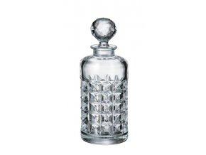 Crystalite Bohemia skleněná karafa na whisky Diamond 700 ML
