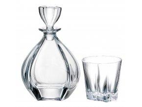 Laguna set na whisky 1+6 Crystalite Bohemia