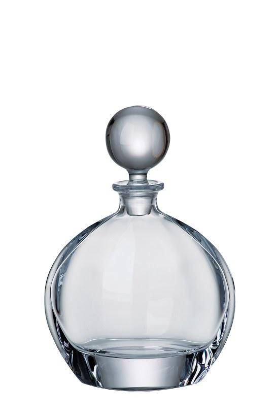 Crystalite Bohemia skleněná karafa na whisky Orbit 800 ML