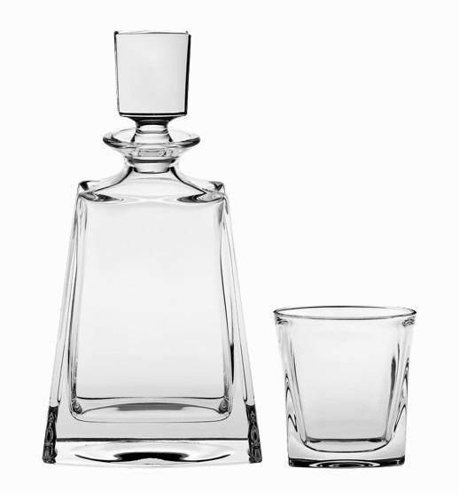 Crystal Bohemia souprava na whisky Kathrene (1+6)