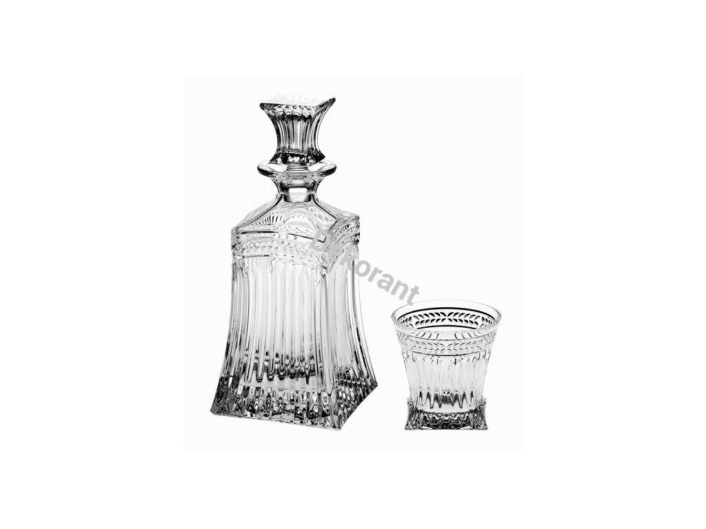 148 crystal bohemia kristalovy whisky set imperial 1 6