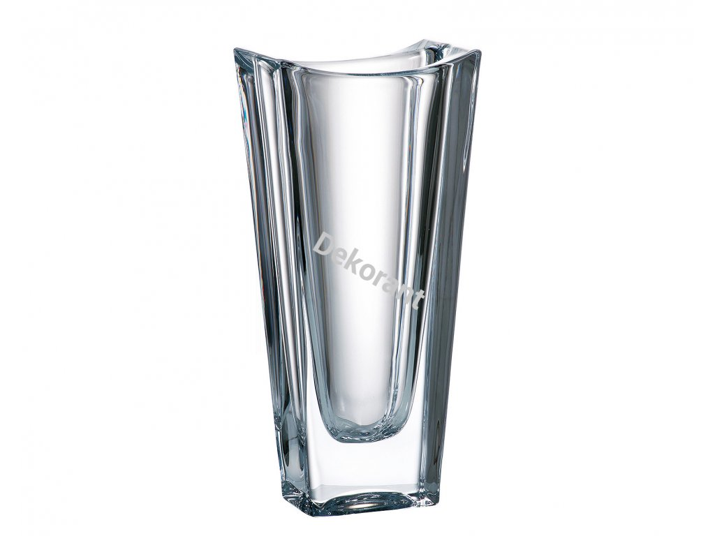 238 crystalite bohemia sklenena vaza okinawa 25 cm