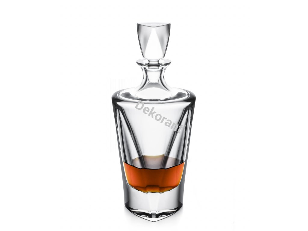 250 bohemia jihlava karafa na whisky triangle 750 ml