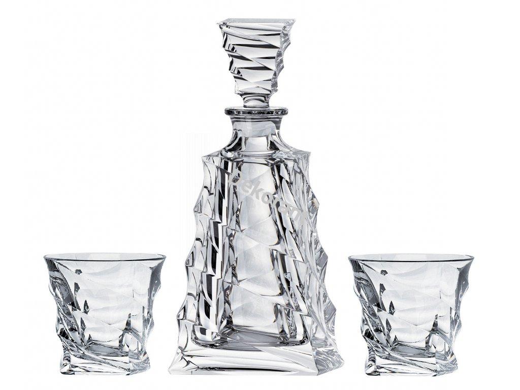 639 crystalite bohemia whisky set casablanca 1 6