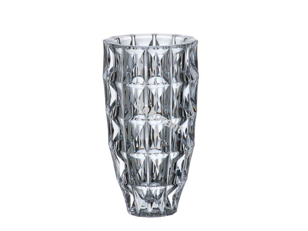 88 crystalite bohemia sklenena vaza diamond 25 cm