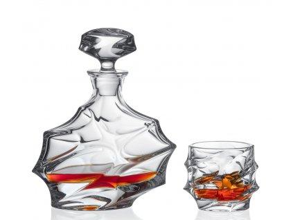 130 bohemia jihlava kristalovy whisky set calypso 1 6