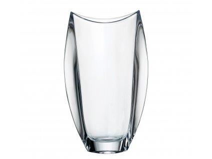 241 crystalite bohemia sklenena vaza orbit 30 5 cm