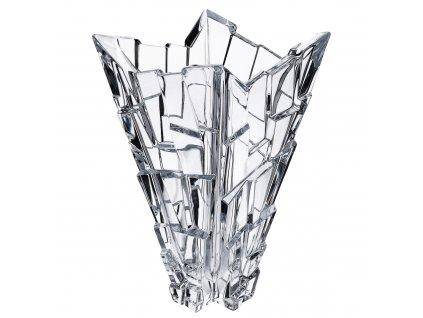 Bohemia jihlava sklenená váza Sydney 28 CM