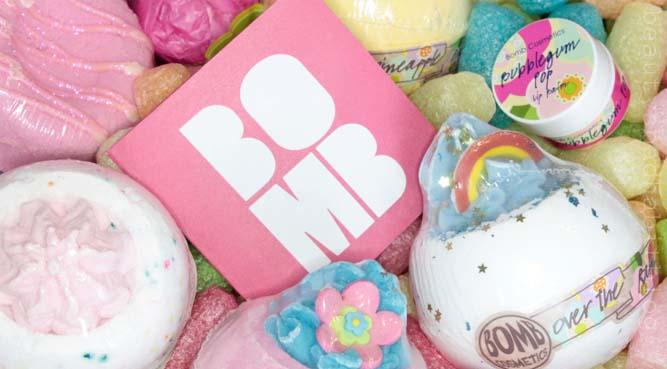 BOMB Cosmetics - voňavé a barevné koupele